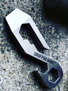 Griffin Pocket EDC Multi Tool - Mini Everyday Carry Keychain Multi Tool