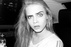 Cara photographed by Terry Richardson