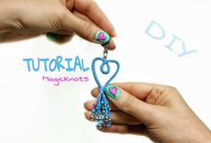 Micro Macrame Heart Tutorial