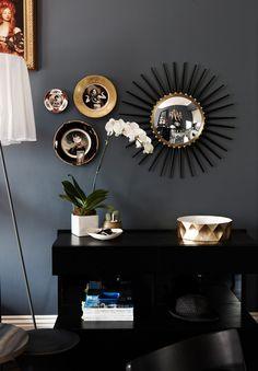 The Decorista-Domestic Bliss: MODERN BLACK + GRAY GLAMOUR