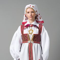 Bunad from Aust-Agder, Norway Folk Costume, Costumes, Medieval Dress, Bridal Crown, Looking For Someone, Traditional Dresses, Norway, Custom Made, Harajuku