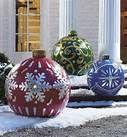 christmas outdoor decorations - Bing Imágenes