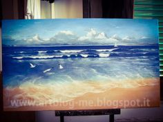 sea...original oil painting