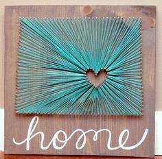 Items similar to Colorado Home Art Grey and Teal Turquoise Love of State Wedding or Anniversary Gift Nail and String Art Going Away Gift Birthday on Etsy Art Gris, String Art Diy, String Art Heart, Wedding String Art, String Crafts, Arte Linear, String Art Patterns, Doily Patterns, Going Away Gifts