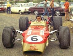 Jim Clark (1936 - 1968) 1965, 1967 and 1968 Tasman Series Champion (ph: © John Stanley)