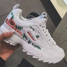 Fila Women's Sneakers and Tennis Shoes - Macy's Moda Sneakers, Cute Sneakers, Sneakers Mode, Sneakers Fashion, Fashion Shoes, Shoes Sneakers, Shoes Heels, Sneakers Workout, Lit Shoes