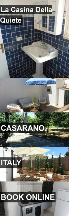 Hotel La Casina Della Quiete in Casarano, Italy. For more information, photos, reviews and best prices please follow the link. #Italy #Casarano #travel #vacation #hotel