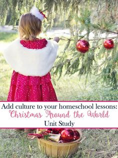 It's easy to add geography and culture to your homeschool lesson plans with a fun Christmas Around the World unit study! Christmas Activities, Christmas Holidays, Xmas, Homeschool Kindergarten, Catholic Homeschooling, Preschool, Homeschool Curriculum, Holidays Around The World, Christmas Planning