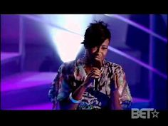 "Singer Le'Andria Johnson performs a stirring excerpt from the song ""Endow Me,"" on Black Entertainment Television's ""Sunday Best."""