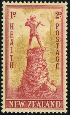 King George VI New Zealand 1945 Health Stamps