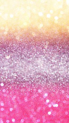 Yellow, Purple & Pink Sparkles