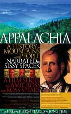 Appalachia ~ A History of Mountains & People
