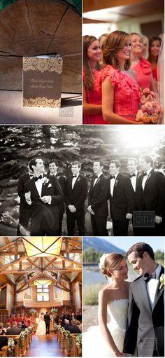 beautifully done wedding - bridesmaids invitations, groomsmen, florist, decor