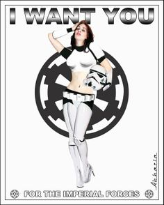 I Want You!  To join the Empire Forces