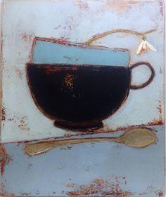 "Anji Allen-Quiet Moment, oil, 13"" x 11"""