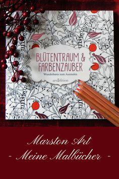 Blütentraum und Farbenzauber ist ein schönes Buch mit Bildern von Blumen und Blüten und auch ein paar Tieren. Es ist Teil meiner Malbuchsammlung. Meine bereits kolorierten Bilder aus diesem Buch sowie auch Tipps und Tutorials findest Du auf meiner Homepage. Viel Spaß! Marston Art