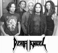 Death Angel:  12 more days until their show in Cincinnati!!!
