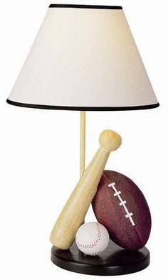 1000 Ideas About Baseball Lamp On Pinterest Baseball