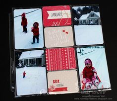 Project Life Seasonal Snapshot Winter page ~ Cindy Schuster
