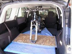 Nissan xterra interior bike rack trailer pinterest nissan xterra cycling and bicycling Nissan xterra bike rack interior