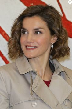 Queen Letizia attended the first seminar about 'Spain 2030, Spanish Cooperation and the new agenda for sustainable development' at the National Library on November 3, 2015 in Madrid, Spain.