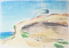 Size – 42x30 cm. Picture drawn with pastels on pastel paper.
