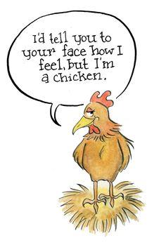 Cute Chicken Valentine!