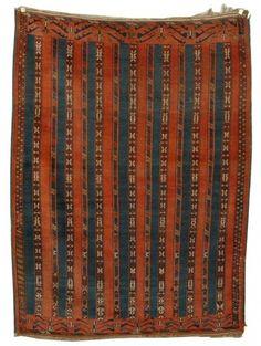 Turkoman Youmud Ensi rug, 19th c