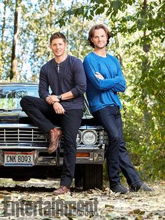 MY BOYS Supernatural Jensen Ackles Jared Padalecki and Baby Sam & Dean