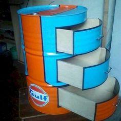 Awesome DIY Gallon Drum Design Ideas - watonmuni.com