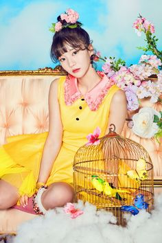 Oh My Girl // Coloring Book // Binnie