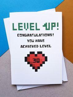 Nerd Birthday, Birthday Games, Birthday Diy, Handmade Birthday Cards, Birthday Quotes, Girlfriend Birthday, Sister Birthday, Minecraft Cards, Minecraft Birthday Card