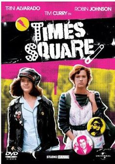 Times Square  (1980)  R  Two troubled young women (Trini Alvarado, Robin Johnson) meet in a  psychiatric hospital. They call themselves the Sleaze Sisters, and they run away to New York City.  The two friends get help from a rock DJ (Tim Curry) and embrace the punk scene of NYC.https://lastonetoleavethetheatre.blogspot.com/2017/03/the-boss-baby.html