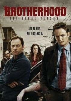"""Think of Brotherhood as a cross between The Wire and The Sopranos with bonus Jason Isaacs and Jason Clarke"" --Mary R"