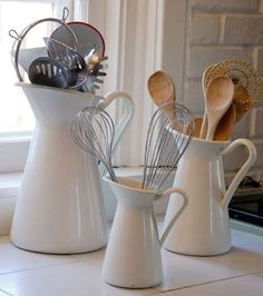 Tu Organizas.: Utensílios de cozinha...organize!