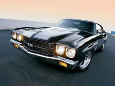 Chevrolet Chevelle SS 1970... probably at the top of my list!