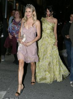 Summery: Huma also looked sensational in a one-shouldered yellow floral dress which cinche...