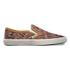 Vans Comina Womens Skateboarding Shoes Slip On Shoe Sea Tropical Seaweed *** Be sure to check out this awesome product.