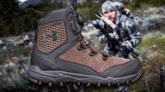 Under Armour выпустила серию ботинок для активной охоты с луком  UA Raider