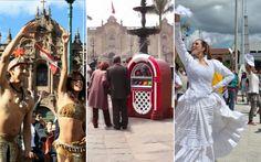 VIDEO: a bailar en plena plaza de armas con la nueva campa�a de Marca Per�