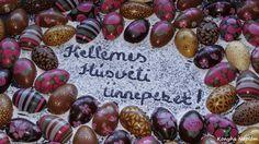 Konyha Naplóm: Húsvéti csokoládé tojás Easter Eggs, Food, Essen, Yemek, Meals