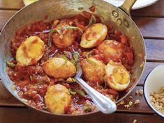 Naomi Duguid's Golden Egg Curry via Serious Eats