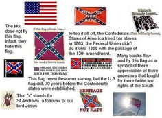 supporters of the confederate flag | black confederate supporter that flag is no more racist than a ...