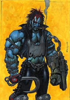 ... the idea of Lobo as a dirty old biker appears to be deeply unappealing to DC, who have ordered a total redo of the character, and he appears in…
