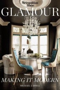 Love those dining room chairs - turquoise!
