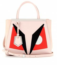 Fendi - 2Jours Small leather tote