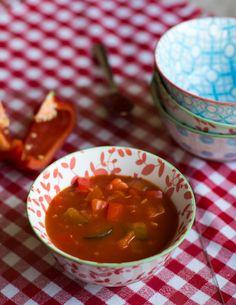 Dit recept van zelfgemaakte zigeunersaus is heeeeerlijk....1