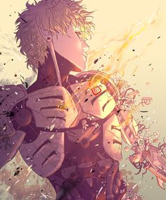 Genos, One Punch Man (THIS! is going as my profile pic right now) (Incredible art!!) (Seriously, all hail to the artist)