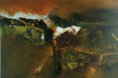 Artist : Neena Singh Title : untitled. Size : 24 x 24 inches. Medium : Acrylic On Canvas