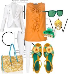 """Sunflower"" by launet on Polyvore"
